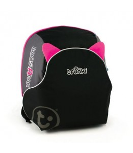 Trunki autosjedalica i ruksak Boostapak ružičasti